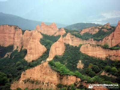 Las Médulas - Valle del Silencio - Herrería de Compludo;web senderismo pistas y senderos